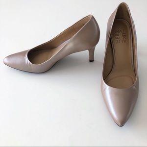 Naturalizer Natalie High Heel Leather Upper Shoes